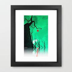 Raices Cielo y Agua Framed Art Print by Miguel Á. Núñez I. - $31.00