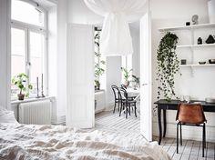 Renoverad lägenhet i mytomspunnen fastighet anno 1899 ‹ Dansk inredning och design