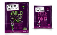 Green Saffron on Packaging of the World - Creative Package Design Gallery