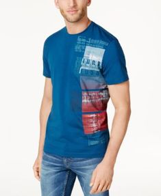 Boss Hugo Boss Men's Graphic-Print T-Shirt
