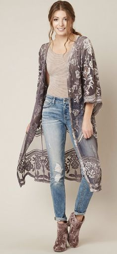 How to Style a Duster Cardigan   Gimmicks Mesh Duster Cardigan  6b08c6e9d