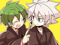 Hazama & Ragna