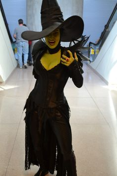 Wicked Witch of the West #wizardofoz #cosplay