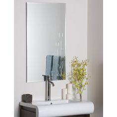 Decor Wonderland Flora Frameless Wall Mirror - SSM1043