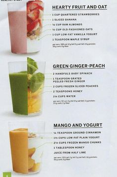 Easy Post-Workout Smoothies