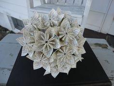 My Bouquet: I Love You Flowers Kusudama Bouquet Anniversary by PoshStudios