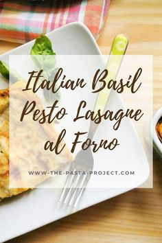 This easy-to-make original Italian lasagne al forno recipe with basil pesto and béchamel sauce is hands down the best meatless lasagna recipe I know. A traditional recipe that's perfect for summer meals and as a starter, for weekdays, family meals and on special occasions! #pesto #lasagna #authenticitalianrecipe #traditionalpasta #traditionalrecipe #italianpasta #thepastaproject Meatless Lasagna, Pesto Lasagna, Cheese Lasagna, Al Forno Recipe, Traditional Italian Dishes, Basil Recipes, Homemade Pesto, Oven Dishes, Easy Meals For Kids