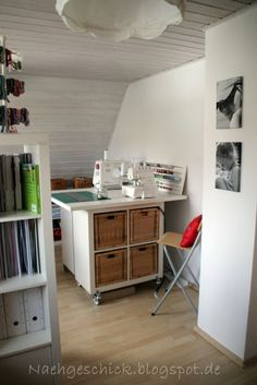 traumhafte n hzimmer on pinterest small sewing space sewing spaces and hamburg. Black Bedroom Furniture Sets. Home Design Ideas