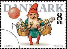 Sello: Pixies (Dinamarca) (Winter Stamps) Mi:DK 1904