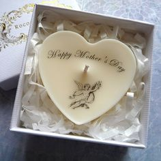 Unique Gift Ideas and Personalised Gifts Rococo, Personalized Gifts, Unique Gifts, Candles, Rose, Heart, Day, Original Gifts, Pink