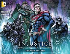 Weird Science: Injustice: Year Four #16 Review