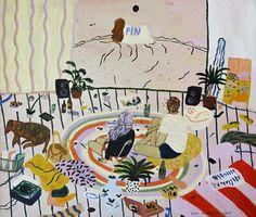 It's Nice That   Liisa Kruusmägi's deliciously rich, layered artworks