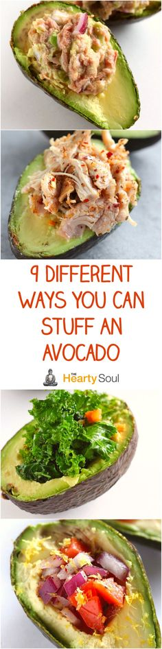 9 Different Ways You Can Stuff An Avocado
