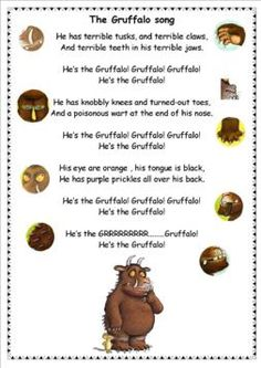The Gruffalo … . The Gruffalo … Gruffalo Eyfs, Gruffalo Activities, Gruffalo Party, Eyfs Activities, Preschool Activities, Shape Activities, Counting Activities, Physical Activities, The Rainbow Fish