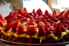 breakfastatcabiancadell'abbadessa#strawberry#fragole#cake#homemade#www.cabiancadellabbadessa.it#