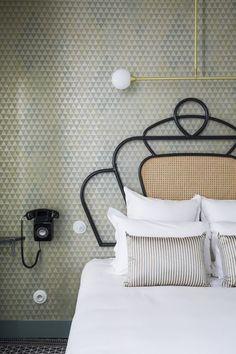 Hôtel Panache, 1, rue Geoffroy-Marie, 75009 Paris, www.hotelpanache.com realizzato da CHZON, BY Dorothee Meilichzon Photography: Romain Ricard