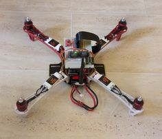QuadCopter Raspberry Pi project
