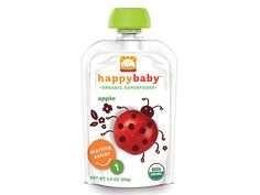 Best First Food  Ready to introduce baby to their first taste of solids? These nine natural, single-ingredient purees of fruits and vegetables offer baby's palate a fresh, organic menu.    Buy it: $2, BuyBuyBaby.com