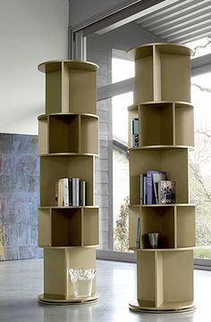 Jeri's Organizing & Decluttering News: Bookcases and More: Storage in the Round
