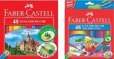 Lápis de cor da Faber Castell