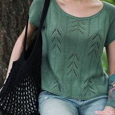 Dishcloth Knitting Patterns, Knitting Wool, Sweater Knitting Patterns, Knitting Socks, Knitting Designs, Hand Knitting, Embroidery Suits, Summer Knitting, Knit Fashion