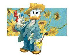 Donald Disney, Disney Duck, Disney Art, Disney Pixar, Graffiti, Minnie, Mickey Mouse, Disney Italia, Monster Characters