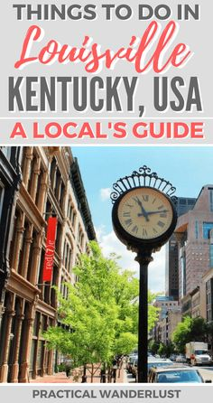 The complete local's guide to Louisville, Kentucky: the best neighborhoods, where to go & what to do. Our favorite amazing places to visit in Louisville. Weekend Trips, Weekend Getaways, Louisville Attractions, Ohio Tourist Attractions, Amazing Destinations, Travel Destinations, Kentucky Vacation, Las Vegas, Louisville Kentucky
