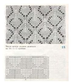 s - Ralitsa Alrona - Picasa Web Albums Lace Knitting Stitches, Crochet Stitches Patterns, Arm Knitting, Knitting Charts, Lace Patterns, Stitch Patterns, Knitted Blankets, Knitting Projects, Tricks