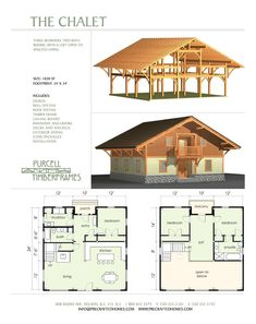 The Chalet - timbeframe structure