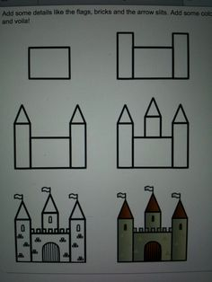 Drawing a simple castle