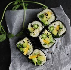 How To Substitute Cauliflower -- Deliciously -- For Just About Everything You Eat what, cauliflower rice sushi!?!