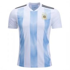 8f8057202df 2018 World Cup Jersey Argentina Home Replica Blue Shirt 2018 World Cup Jersey  Argentina Home Replica Blue Shirt