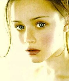 Alexis Bledel. I just think this is stunning, she looks like an angel.