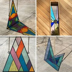 David Scheid Stained Glass handmade in Los Angeles, CA. Is stained glass making a comeback? Modern stained glass?