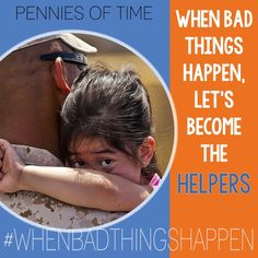 Join us in providing FREE resources to families and communities to use #whenbadthingshappen as we all work together to build hope and resilience as we #becomethehelpers!