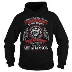ABRAHAMSON Good Heart - Last Name, Surname TShirts