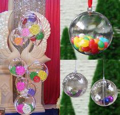 10PCS Christmas Tree Decor 5CM Ball
