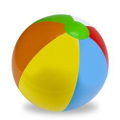 """24"""" Six-Color Beach Ball"""