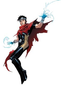 Wiccan (Billy Kaplan). Hes Wiccan, future sorcerer supreme of Earth and he is gay. He is definetly a character that embodies the changes, and tolerance that society is waking up to