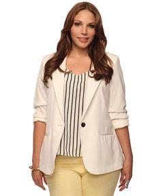 Women's Clothing Rapture Gorgeous Junior Sz L Forver 21 Black Jacket Blazer Nwt Suits & Suit Separates