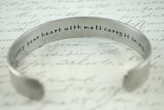 e. e. cummings Bracelet | 37 Ways To Proudly Wear Your Love Of Books