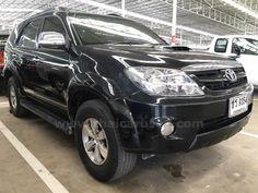 ขายรถอเนกประสงค์ TOYOTA FORTUNER โตโยต้า ฟอร์จูนเนอร์ รถปี2007 สีดำ
