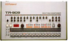 The Roland TR-909 rhythm composer... one classic (house/gabber/hardcore) beat monster ;)