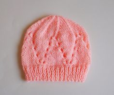 marianna's lazy daisy days: Matching Hat for all-in-one baby top - Easy Baby Cardigan Knitting Pattern Free, Baby Hats Knitting, Beanie Pattern, Baby Knitting Patterns, Free Knitting, Knitted Hats, Crochet Patterns, Knit Or Crochet, Crochet Hats