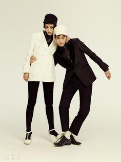 """Swinging London"" Vogue Korea October 2014"