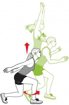 Six Plyometric Exercises For Runners - Competitor.com - get faster with less mileage!
