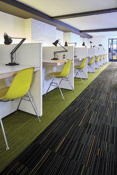 Razzle Dazzle - Strike a Light - Lime Light -- Flare - Electron. #Interfacecarpet #flooring #design
