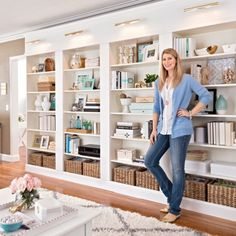 Join me over @betterhomesandgardens Style Spotters blog today! I'm sharing the deets on our library wall! @BHG #diy by blissathome1