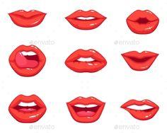 13 Best Lips Cartoon Images In 2016 Art Drawings Drawings Paintings