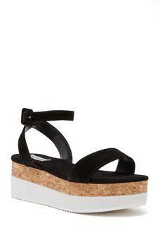 c7a303cc343 Steve Madden - Bodhi Platform Ankle Strap Sandal